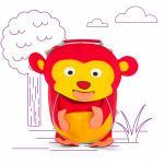 Affenzahn Kleine Freunde Albert Affe Rucksäckchen jetzt online kaufen