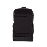 A E P Alpha Classic Essential Backpack mit Laptopfach Pitch Black jetzt online kaufen