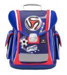 Belmil 'Sporty' Schulranzen Set 4-teilig 2020 Red-Blue Football jetzt online kaufen