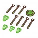 Coocazoo Zubehör MatchPatch Synthetik Leather Irish Green jetzt online kaufen