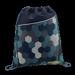 Coocazoo RocketPocket Sportbeutel Blue Geometric Melange jetzt online kaufen