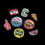 Coocazoo Zubehör Patches-Set StyleTyle 8-teilig Sport jetzt online kaufen