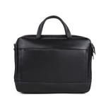 A E P Delta Classic Leather Special Leather Work Bag mit Laptopfach Pitch Black jetzt online kaufen