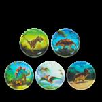 ergobag Kletties Klettie-Set matt, 5-teilig 2020 Dinosaurier jetzt online kaufen