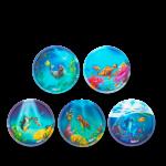 ergobag Kletties Klettie-Set matt, 5-teilig 2020 Unterwasserfreunde jetzt online kaufen