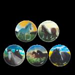 ergobag Kletties Klettie-Set matt, 5-teilig 2020 Wilde Pferde jetzt online kaufen