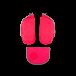 ergobag Schulzubehör cubo Seitentaschen Zip-Set, 3-tlg. 2019 pink jetzt online kaufen