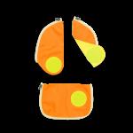ergobag Schulzubehör Sicherheits-Set, 3-tlg. 2020 Orange jetzt online kaufen