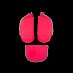 ergobag Schulzubehör Seitentaschen Zip-Set, 3-tlg. 2020 Pink jetzt online kaufen