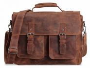 "Packenger Kolbjorn Umhängetasche Messenger Bag 15"" Cognac Braun jetzt online kaufen"