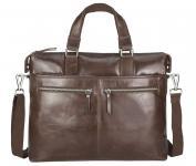 """Packenger Manhattan Herrenhandtasche Messenger Bag 13"""" Vintage Braun jetzt online kaufen"""