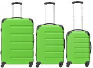 Packenger Marina Koffer 3er-Set M, L + XL Grün jetzt online kaufen