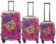 Packenger One World by Della Koffer 3er-Set Pink jetzt online kaufen