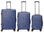 Packenger Vertical Premium Koffer 3er-Set M, L + XL Blau Metallic jetzt online kaufen