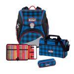 Scout Alpha Schulranzen-Set, 4-teilig Gingham Rocker jetzt online kaufen