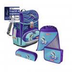 Step by Step Light 2 Schulranzen-Set 4-tlg. Happy Dolphins jetzt online kaufen
