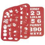 Step by Step Schulzubehör Schablonen für 2in1-Schulrucksack rot jetzt online kaufen