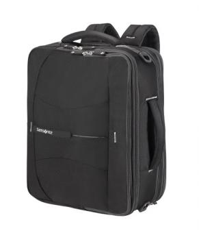 "Samsonite 4Mation 3-Way Shoulder Bag Exp 16"" Black/Silver"