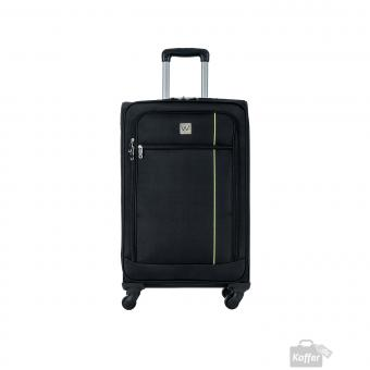 Wagner Luggage Holiday Trolley M 4w schwarz