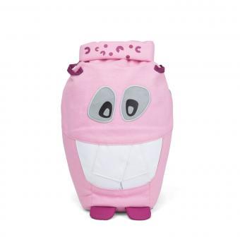 Affenzahn Monster Freunde Großer Kindergartenrucksack aus Bio-Baumwolle Mighty Monster Pink