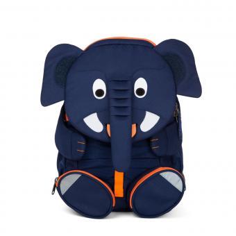 """Affenzahn Großer Freund """"Elefant"""" Kindergartenrucksack Blau"""