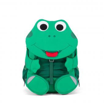 """Affenzahn Großer Freund """"Frosch"""" Kindergartenrucksack Grün"""