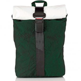 Airpaq 2.0 Classic Rolltop-Rucksack mit Laptopfach Grün