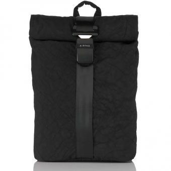 Airpaq 2.0 Unicolor Rolltop-Rucksack mit Laptopfach Black Uni