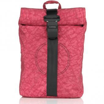 Airpaq 2.0 Unicolor Rolltop-Rucksack mit Laptopfach Rosa Uni