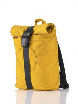 Airpaq Uni Rolltop-Rucksack mit Laptopfach gelb
