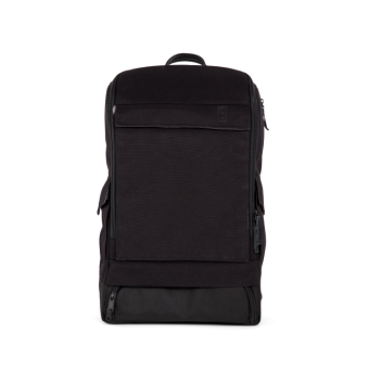 A E P Alpha Classic Essential Backpack mit Laptopfach Pitch Black