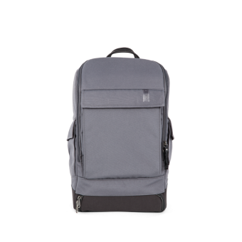 A E P Alpha Small Essential Backpack mit Laptopfach Graphite Grey