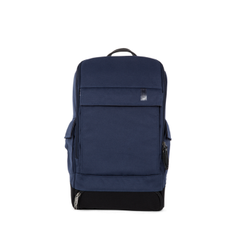 A E P Alpha Small Essential Backpack mit Laptopfach Universe Blue