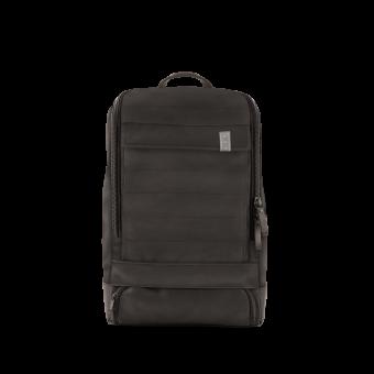 A E P Alpha Small Leather Special Lederrucksack mit Laptopfach Ancient Black