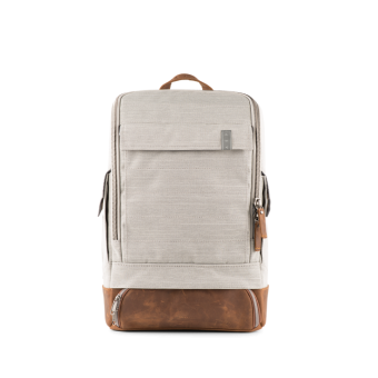 A E P Alpha Small Special Backpack mit Laptopfach Blended Grey