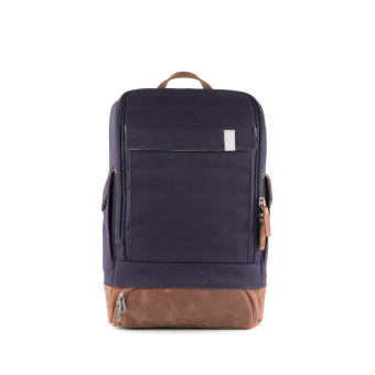 A E P Alpha Small Special Backpack mit Laptopfach Eclipse Blue