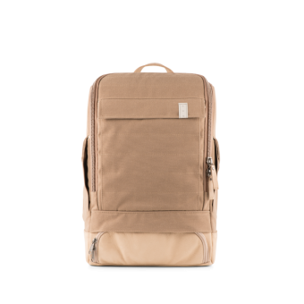 A E P Alpha Small Special Backpack mit Laptopfach Industrial Taupe