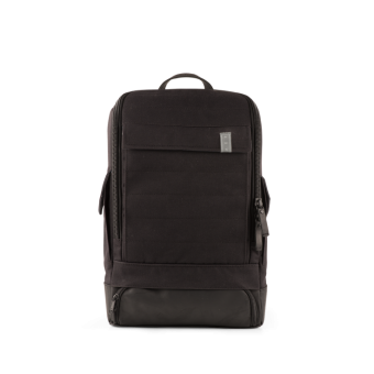 A E P Alpha Small Special Backpack mit Laptopfach Suit Black