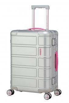 American Tourister Alumo Neon Trolley mit 4 Rollen 55cm Pink