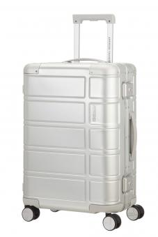 American Tourister Alumo Trolley mit 4 Rollen 55cm Silver