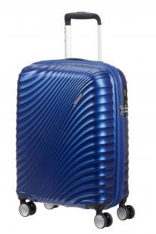 American Tourister Jetglam Trolley mit 4 Rollen 55 Metallic Blue