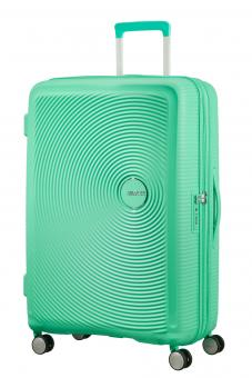American Tourister Soundbox Trolley L 4R 77cm, erweiterbar Deep Mint