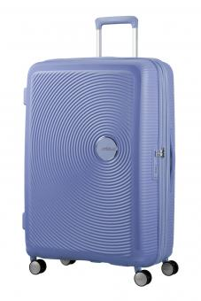 American Tourister Soundbox Trolley L 4R 77cm, erweiterbar Denim Blue