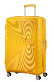 American Tourister Soundbox Trolley L 4R 77cm, erweiterbar Golden Yellow
