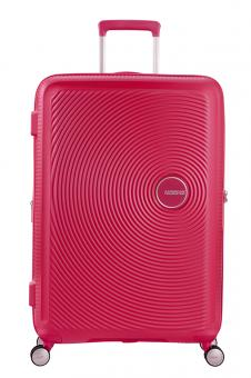 American Tourister Soundbox Trolley L 4R 77cm, erweiterbar Lightning Pink