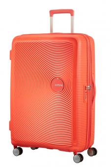 American Tourister Soundbox Trolley L 4R 77cm, erweiterbar Spicy Peach