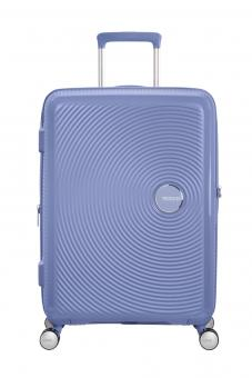 American Tourister Soundbox Trolley M 4R 67cm, erweiterbar Denim Blue