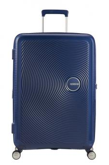 American Tourister Soundbox Trolley M 4R 67cm, erweiterbar Midnight Navy