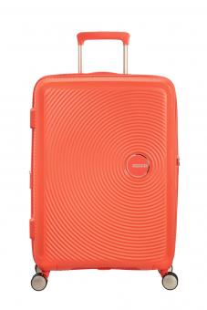 American Tourister Soundbox Trolley M 4R 67cm, erweiterbar Spicy Peach