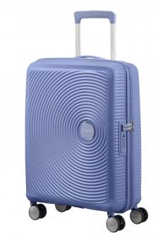American Tourister Soundbox Trolley S 4R 55cm, erweiterbar Denim Blue